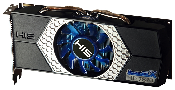 Фото: Видеокарта HIS / Radeon HD7870 IceQ X / 2Gb DDR5 / 256-bit H787QN2G2M