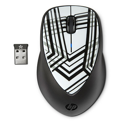 Фото: Мышь HP 2.4 GHz X4000 Wireless Laser Mobile Mouse (H2F41AA)