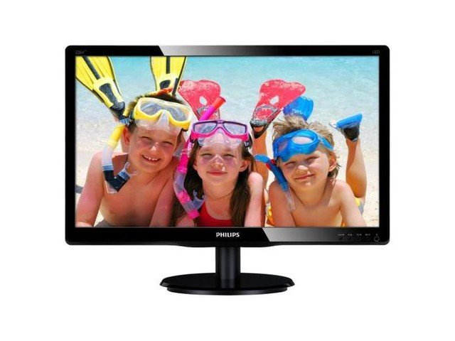 "Фото: Монитор 22"" Philips 226V4LAB/00 Black"