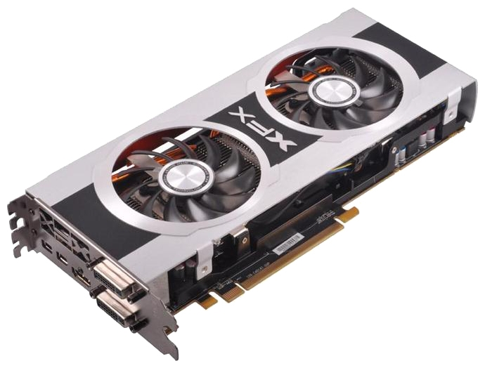 Фото: Видеокарта XFX Radeon HD7850 Black Edition OC (FX-785A-CDBC)