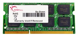 Фото: Модуль памяти SO-DIMM DDR3 4Gb PC3-8500 (1066MHz) G.Skill (F3-8500CL7S-4GBSQ) 7-7-7-20