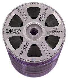 Фото: Диск CD-R 10 Esperanza Movie, 700MB/80min, 52x, Bulk Box