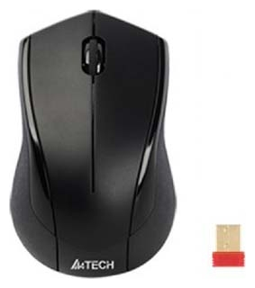 Фото: Мышь A4Tech G7-400D-1 Holeless USB Wireless