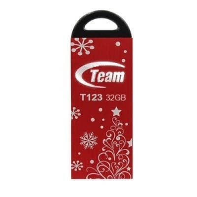 Фото: USB Flash Drive 32 Gb Team T123 Red  Xmas