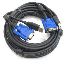Фото: KVM кабель D-Link DKVM-CU5 (USB) Cable Kit for DKVM Switches 5 м
