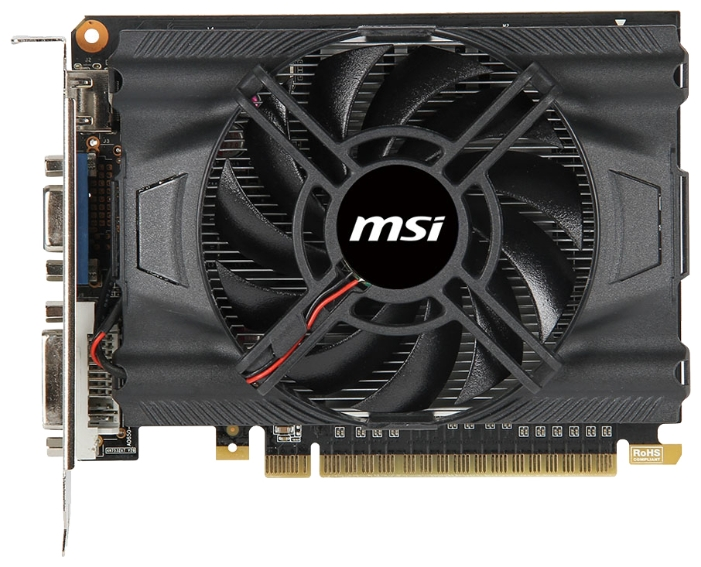 Фото: Видеокарта MSI / GeForce GTX650 OC / 2Gb DDR5 / 128-bit / VGA, DVI, HDMI / 1071/5000MHz / N650-2GD5/OC