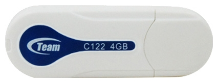 Фото: USB Flash Drive 4 Gb Team C122 White