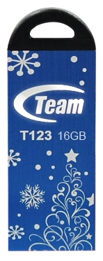Фото: USB Flash Drive 16 Gb Team T123 Blue Xmas