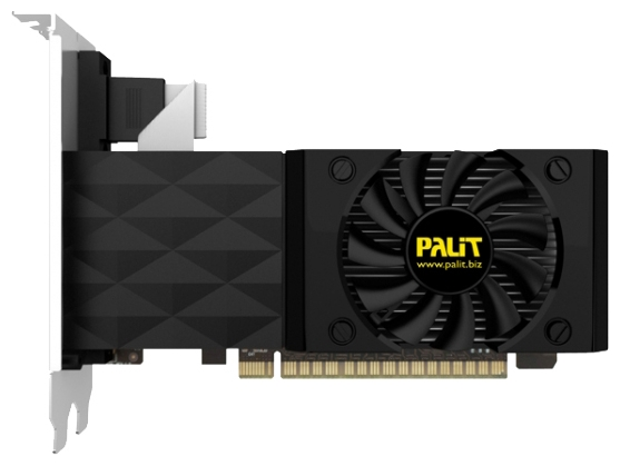 Фото: Видеокарта Palit / GeForce GT630 / 2Gb DDR3 / 128-bit / VGA, DVI, HDMI / 780/535MHz / NEAT6300HD41-1085F