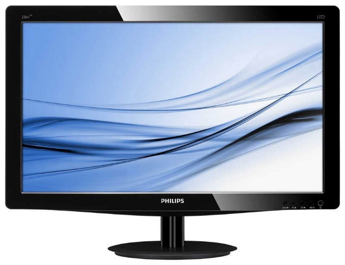 "Фото: Монитор 23"" Philips 236V3LAB6/00 Black"