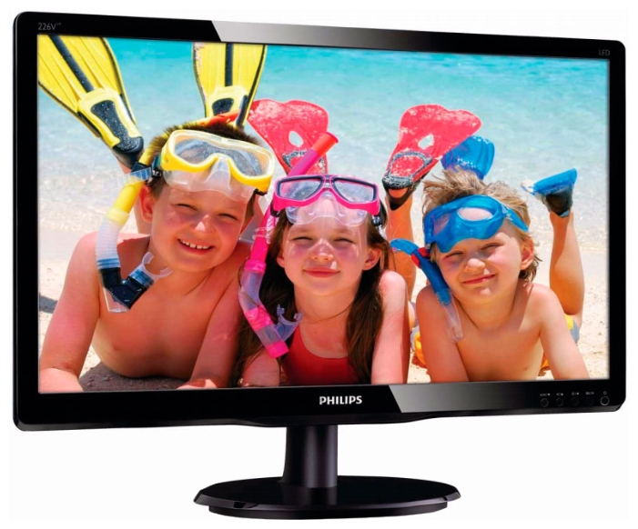 "Фото: Монитор 22"" Philips 226V4LSB2/10 Black"