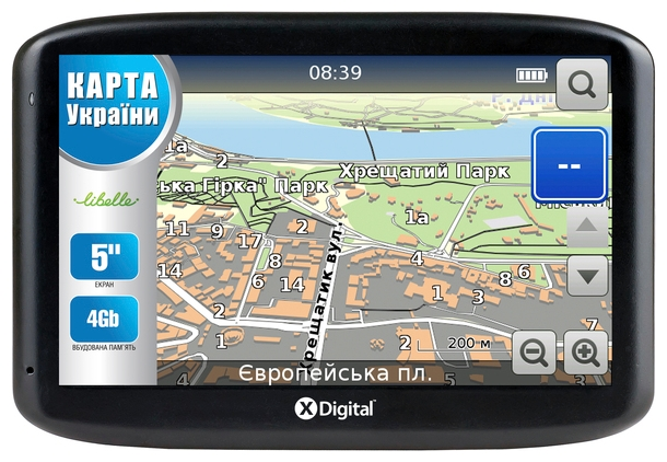 Фото: Навигатор GPS X-DIGITAL 561