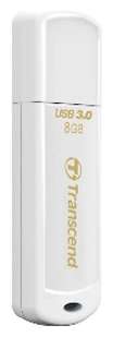 Фото: USB 3.0 Flash Drive 8Gb Transcend 730 White TS8GJF730