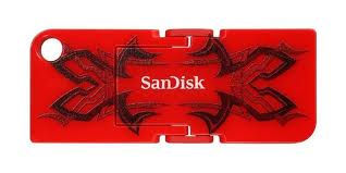 Фото: USB Flash Drive 32 Gb SanDisk Cruzer Pop Red SDCZ53B-032G-B35