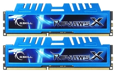 Фото: Модуль памяти DDR3 8Gb (2x4Gb) PC3-12800 (1600MHz) G.Skill Ripjaws Х/ F3-12800CL7D-8GBXM / 7-8-8-24
