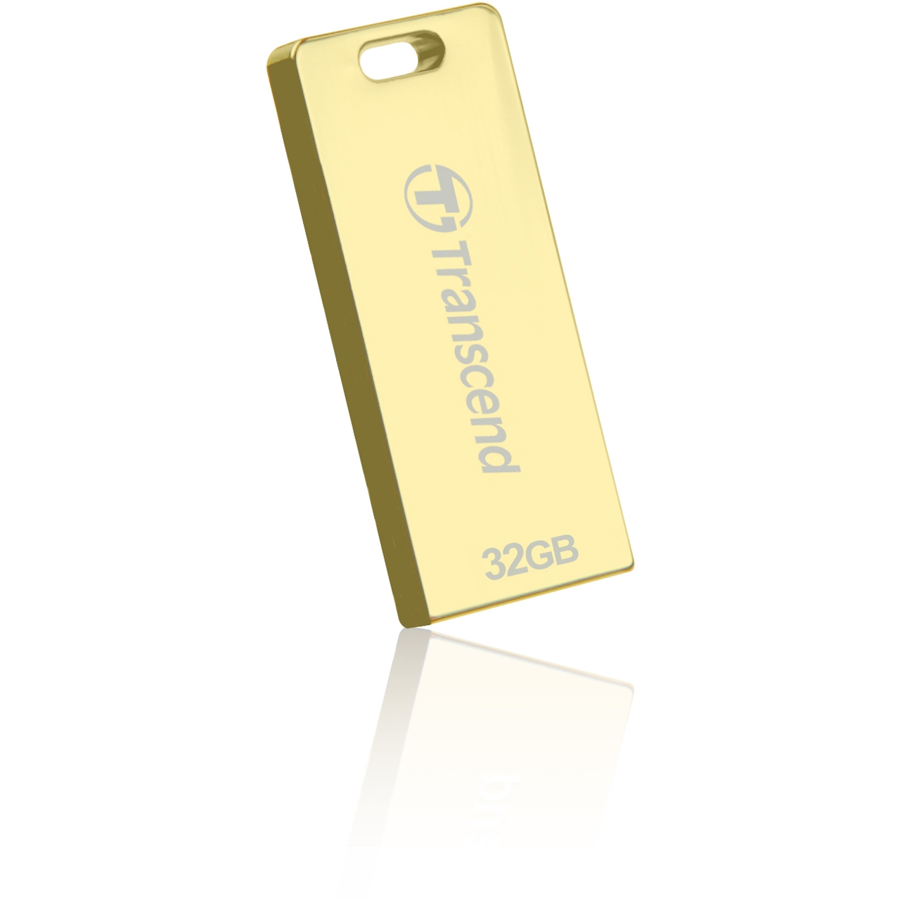 Фото: USB Flash Drive 32Gb Transcend T3G Golden / 15/11Mbps / TS32GJFT3G