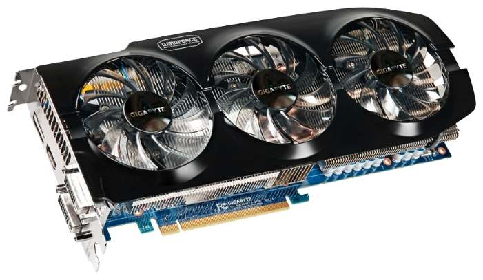 Фото: Видеокарта Gigabyte / GeForce GTX670 / 2Gb DDR5 / 256-bit / 2xDVI, HDMI, DP / 980/6008MHz / GV-N670WF3-2GD