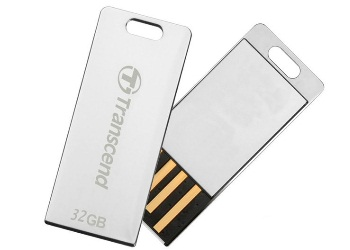Фото: USB Flash Drive 32Gb Transcend T3S Серебристый / 15/11Mbps / TS32GJFT3S
