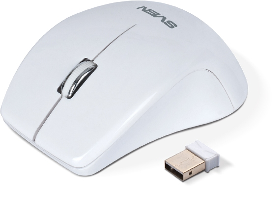 Фото: Мышь SVEN RX-610 Wireless (white)
