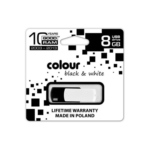 Фото: USB Flash Drive 8Gb Goodram Colour  Black-White