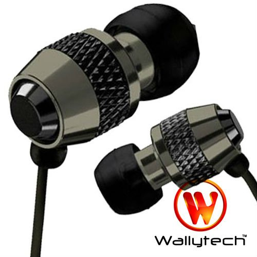 Фото: Наушники Wallytech WEA-081, Black, Metal, 3.5 mm