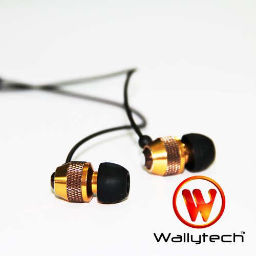 Фото: Наушники Wallytech WEA-081, Orange, Metal, 3.5 mm