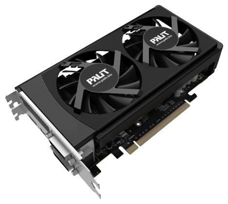 Фото: Видеокарта Palit / GeForce GTX650 Ti OC Boost / NE5X65BS1049-1060F