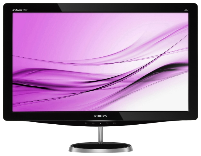 "Фото: Монитор 22"" Philips 228C3LSB/01 Black"
