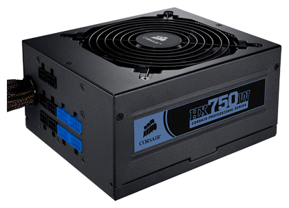 Фото: Блок питания Corsair HX750 (CP-9020031-EU) Professional Series, 750W