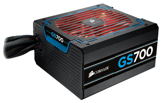 Фото: Блок питания Corsair GS700 (CP-9020064-EU) Gaming Series 2013 Edition, 700W