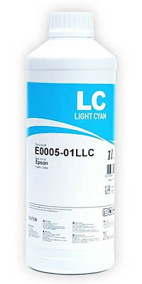 Фото: Чернила InkTec Epson E0005-01LLC, Light Cyan, (1л)