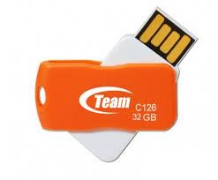 Фото: USB Flash Drive 32Gb Team C126 Orange / TC12632GE01