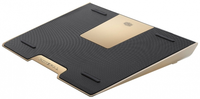 "Фото: Подставка под ноутбук Cooler Master NotePal Color Infinite / R9-NBC-BWDA-GP /   Gold, 17"", Aluminum"