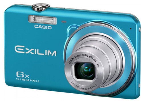 Фото: Фотоаппарат CASIO Exilim EX-ZS20 Blue + CASE