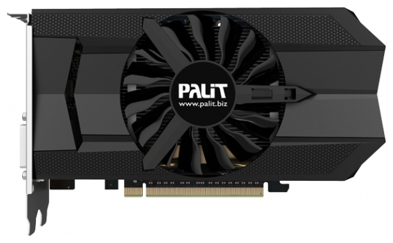 Фото: Видеокарта Palit / GeForce GTX650Ti BOOST 192b / 1Gb DDR5 / NE5X65B01009-1060F