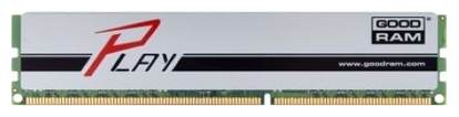 Фото: Модуль памяти DDR3 8Gb PC3-12800 (1600MHz) Goodram Play SILVER 10-10-10-28 / GYS1600D364L10/8G