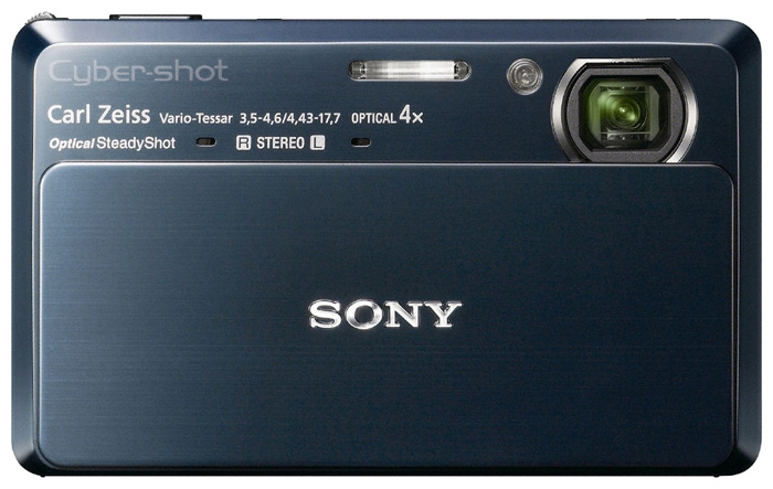 Фото: Цифровая камера Sony DSC-TX7 Blue / eng menu / 12 мес + Sony MS 2 Gb  + Sony LCS-CSW case