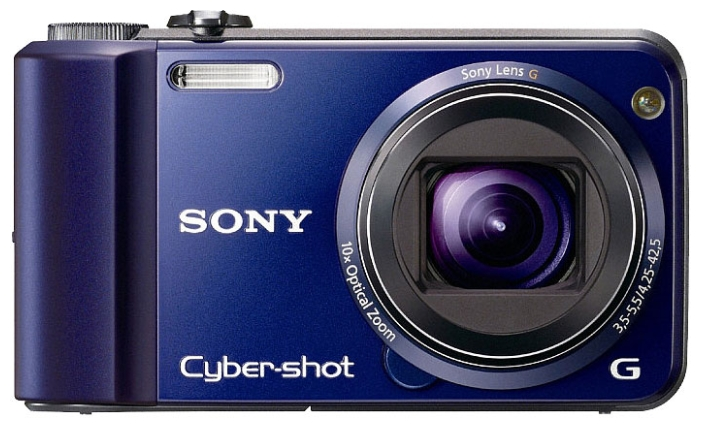Фото: Цифровая камера Sony DSC-H70 Blue / eng menu / 12 мес + Sony MS 2 Gb  + Sony LCS-CSW case
