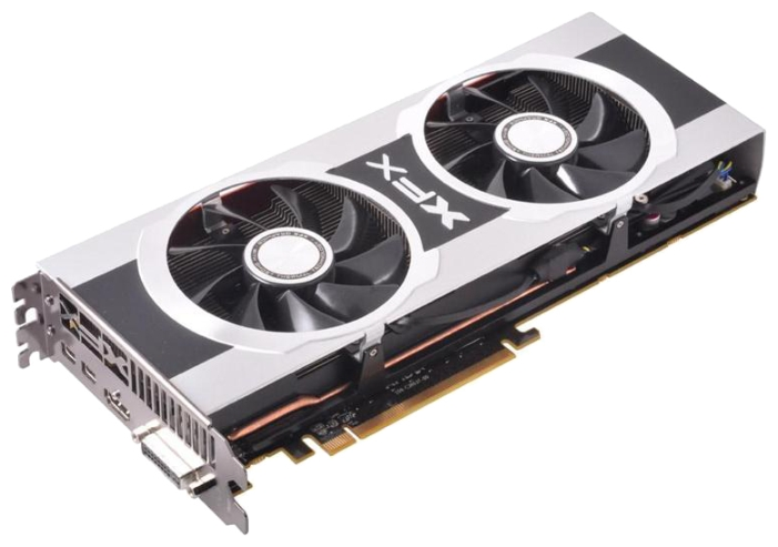 Фото: Видеокарта XFX / Radeon HD7970 Black Edition OC / 3Gb DDR5 / 384-bit / 1000/5700 MHz / DVI, HDMI, 2 x mini DP / FX-797A-TDBC
