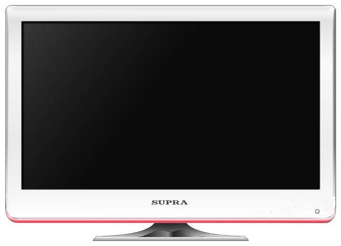 "Фото: Телевизор 24"" Supra STV-LC2410F / Full HD 1920x1080 50Hz / белый"