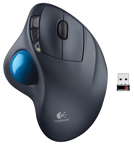 Фото: Мышь Logitech M570 Wireless black (910-002090)