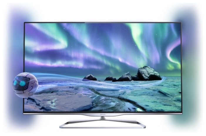 "Фото: Телевизор 32"" LED PHILIPS 32PFL5008T/12"