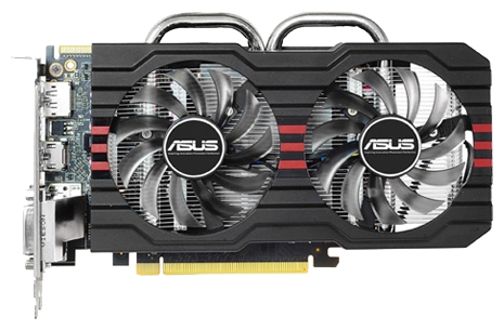 Фото: Видеокарта Asus / Radeon HD7790 / 2Gb DDR5 / HD7790-DC2OC-2GD5