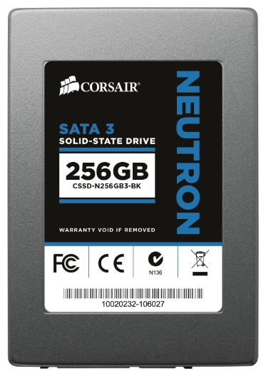 Фото: Жесткий диск SSD 256Gb Corsair Neutron Series (CSSD-N256GB3-BK) / 2,5""
