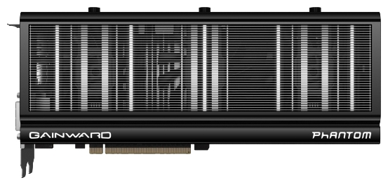 Фото: Видеокарта Gainward / GeForce GTX770 Phantom / 2Gb DDR5 / 256-bit / 2xDVI, HDMI, DP / 1150/7010MHz / 426018336-2951