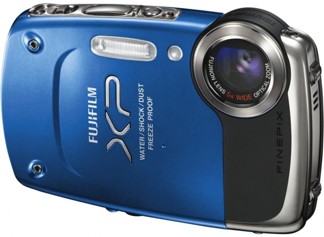 Фото: Фотоаппарат FujiFilm FinePix  XP-50 Blue