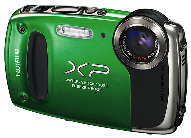 Фото: Фотоаппарат FujiFilm FinePix  XP-50 Green