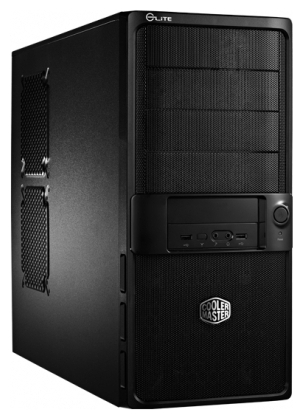 Фото: Корпус Cooler Master Elite 335U Black-Silver / RC-335U-KKP460