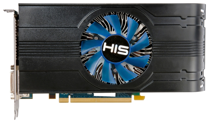 Фото: Видеокарта HIS / Radeon HD7790 iCooler Turbo / 1Gb DDR5 / 128-bit / 2xDVI, HDMI, DP / 1075/6400 MHz / H779FT1GD