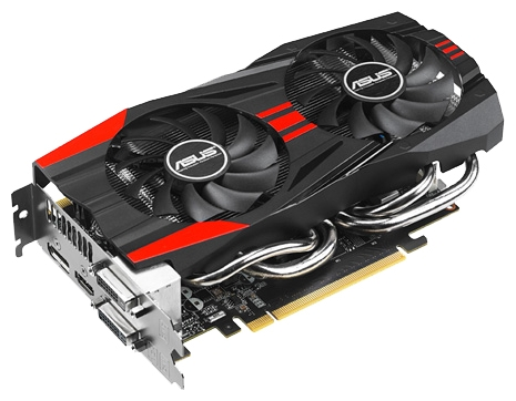 Фото: Видеокарта Asus / GeForce GTX760 / 2Gb DDR5 / GTX760-DC2OC-2GD5